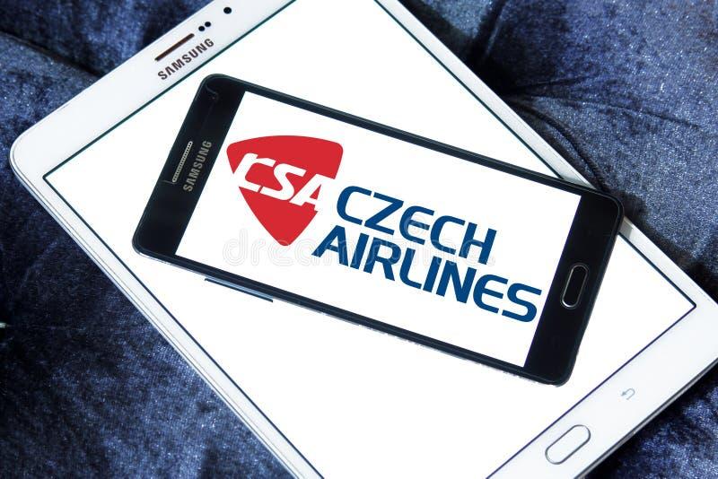 Logotipo de Czech Airlines imagem de stock