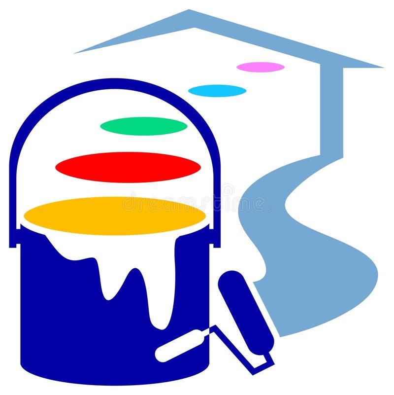 Logotipo de decoração da casa