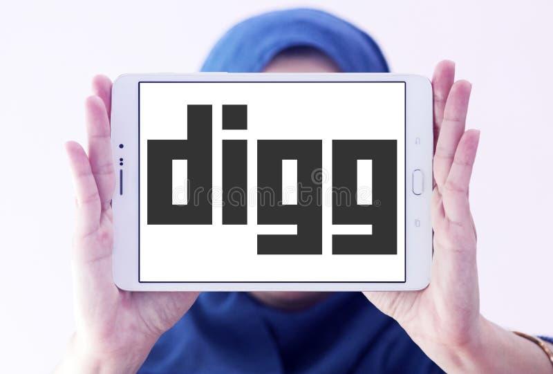 Download Logotipo de Digg foto de archivo editorial. Imagen de datos - 100529363