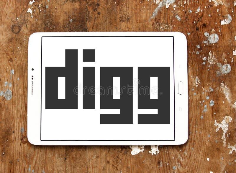 Download Logotipo de Digg foto editorial. Imagen de mania, apps - 100530326