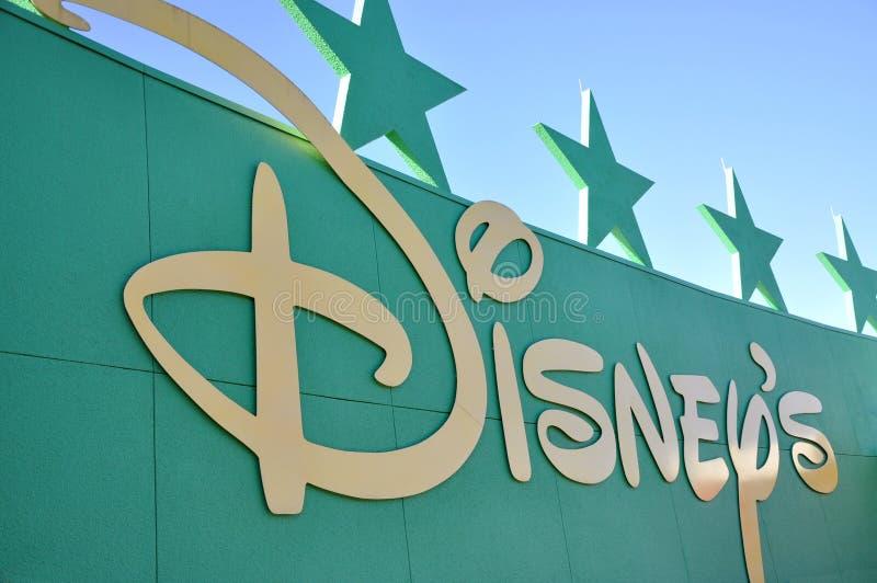 Logotipo de Disney imagem de stock royalty free
