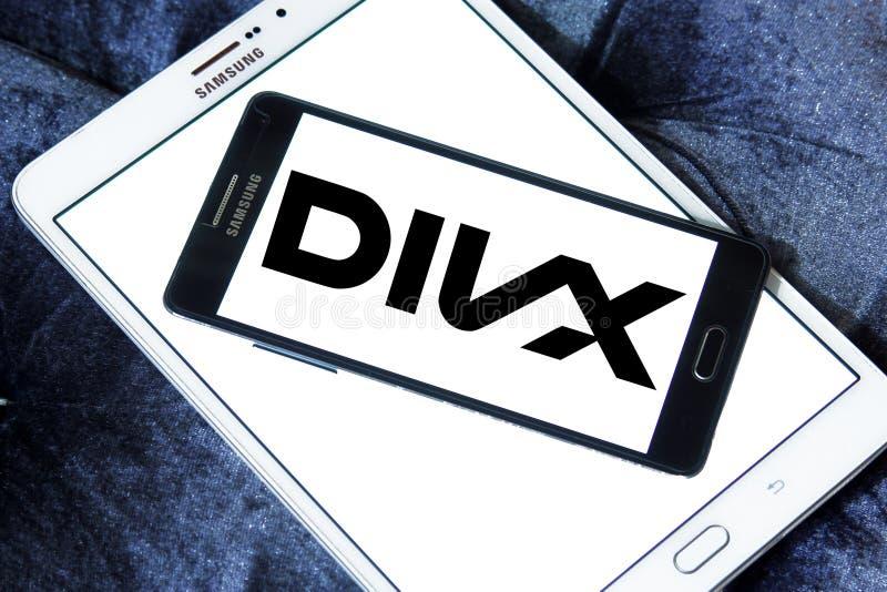 Logotipo de Divx imagem de stock