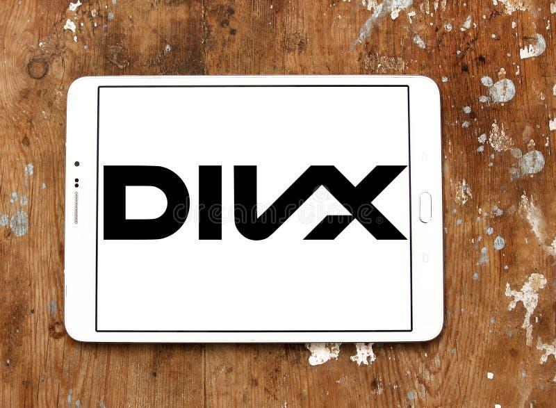 Logotipo de Divx foto de stock