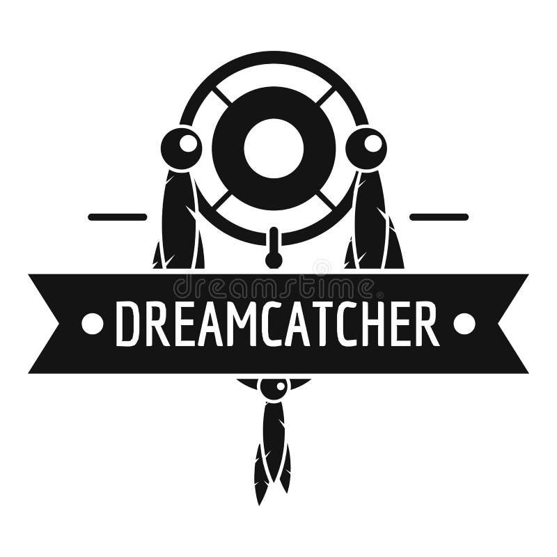 Logotipo de Dreamcatcher, estilo negro simple libre illustration