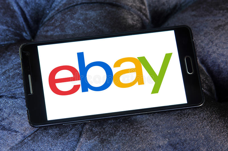 Logotipo de Ebay foto de stock royalty free
