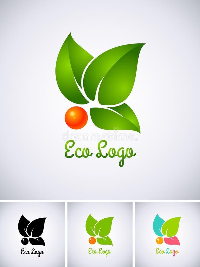 Logotipo de Eco ilustração do vetor