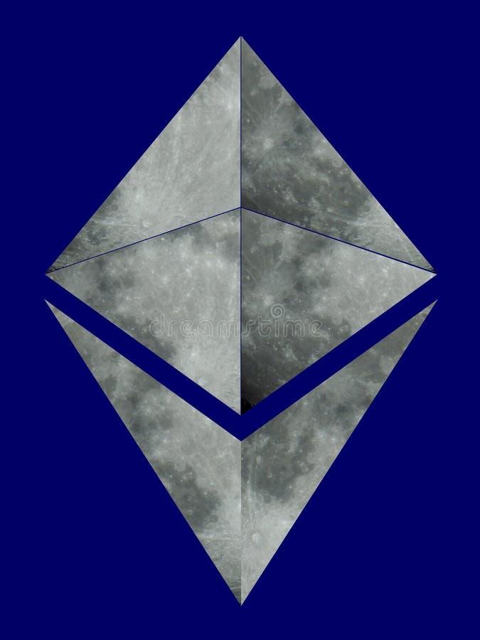 Logotipo de Ethereum fotografía de archivo
