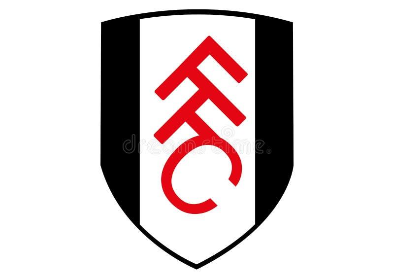 Logotipo de Fulham FC ilustração royalty free