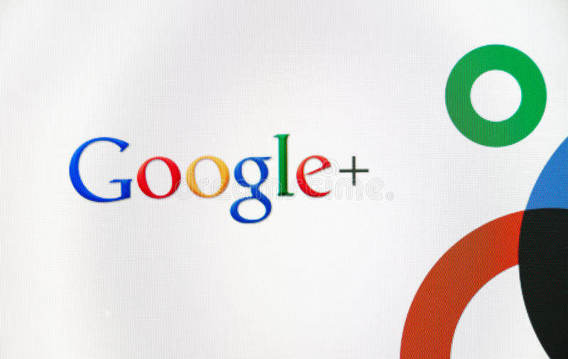 Logotipo de Google+ imagem de stock royalty free