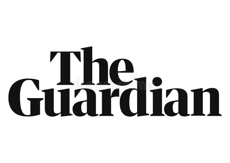 Logotipo de The Guardian ilustração do vetor