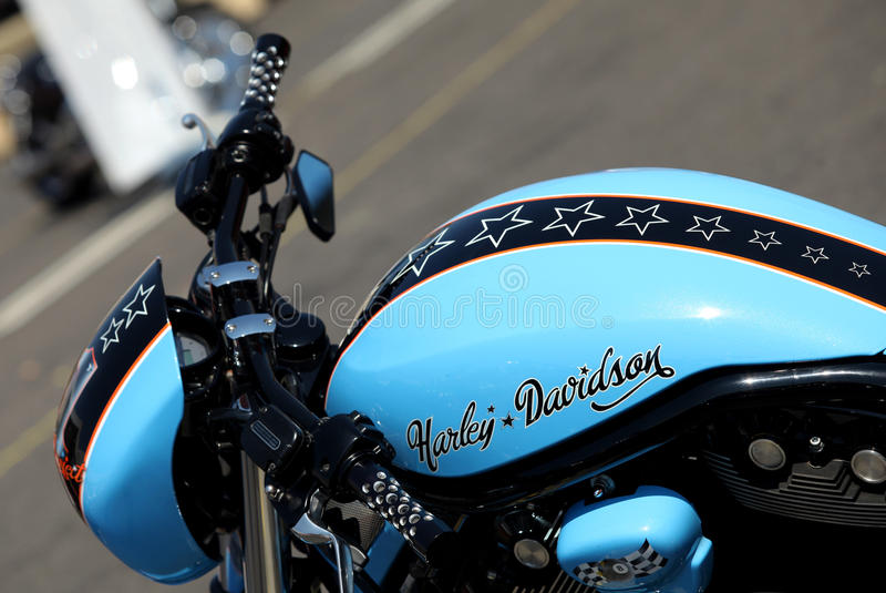 Logotipo de Harley-Davidson fotos de stock royalty free