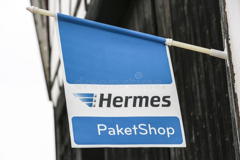 Logotipo de Hermes imagem de stock