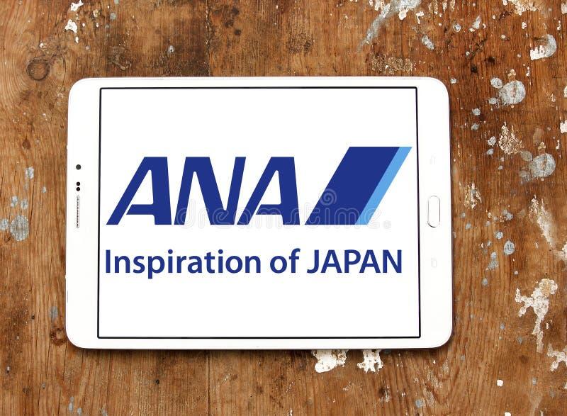 Logotipo de Japón de las líneas aéreas de la anecdotario imagen de archivo libre de regalías