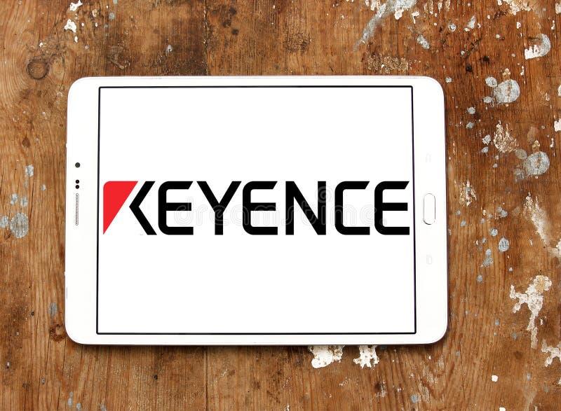 Logotipo de Keyence Corporation fotografía de archivo