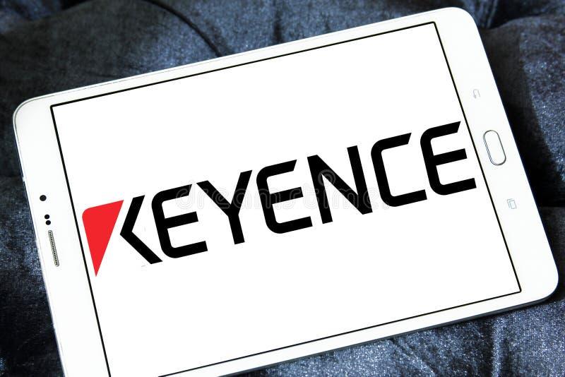 Logotipo de Keyence Corporation fotografía de archivo libre de regalías