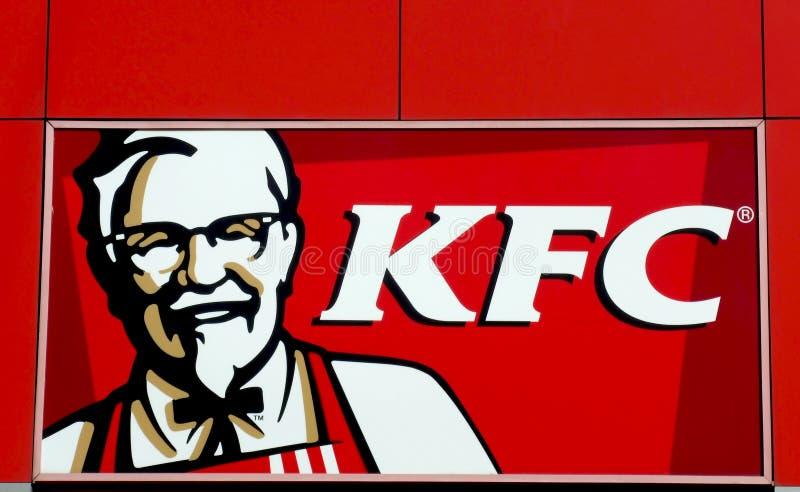 Logotipo de Kfc fotografia de stock