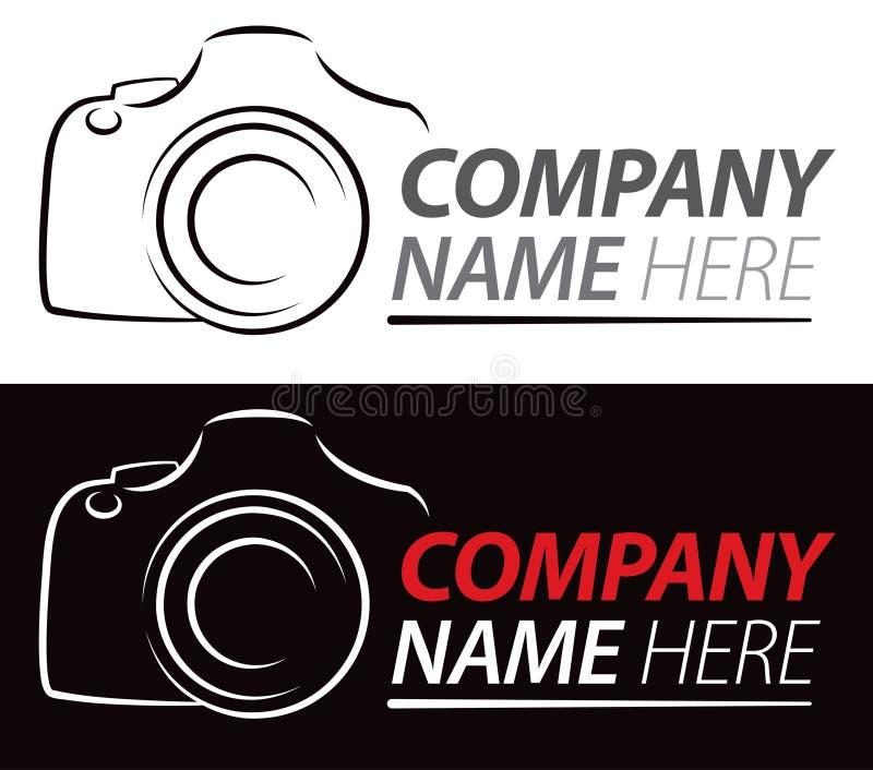 Logotipo de la cámara stock de ilustración