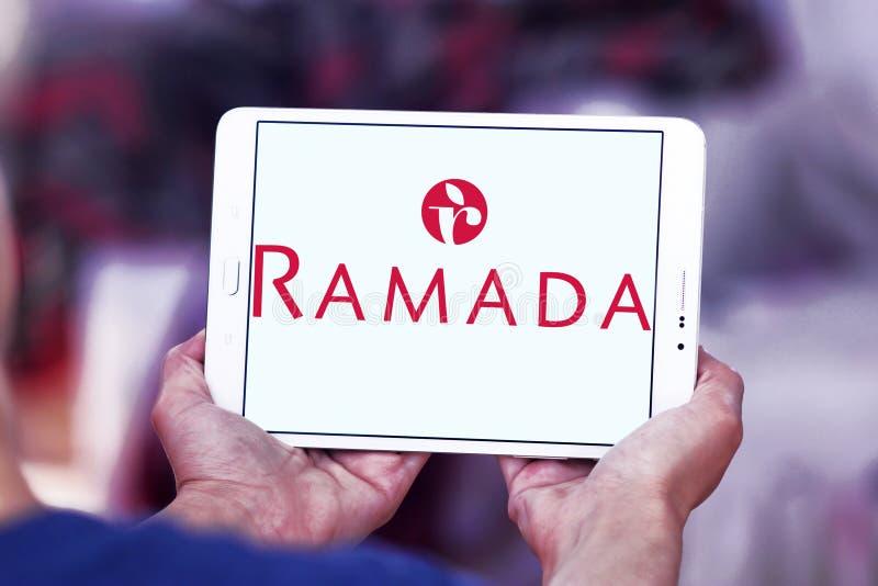 Logotipo de la cadena de hoteles de Ramada imagen de archivo libre de regalías
