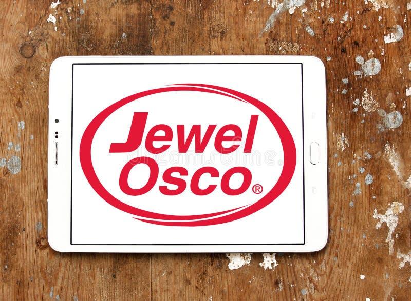 Logotipo de la cadena de supermercados de Osco de la joya imagen de archivo