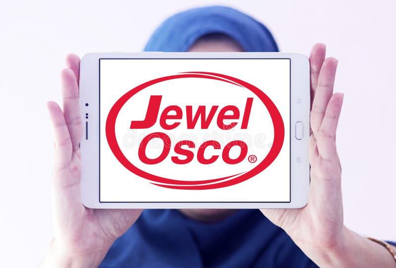Logotipo de la cadena de supermercados de Osco de la joya imagenes de archivo