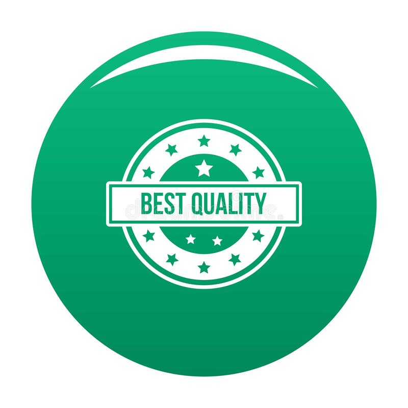 Logotipo de la calidad, estilo simple stock de ilustración