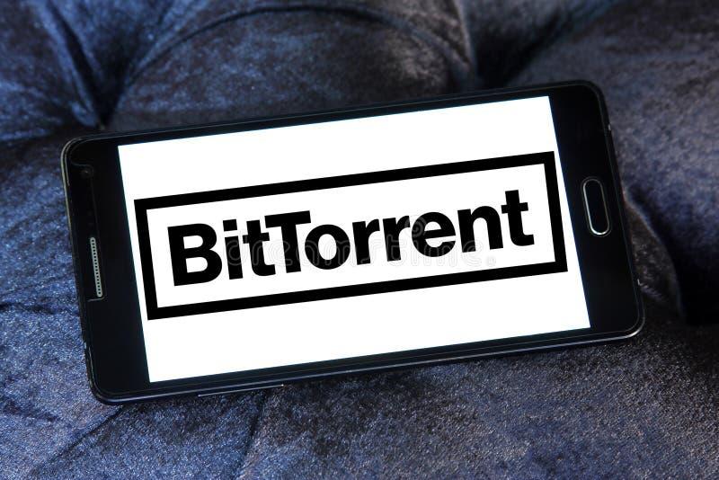 Logotipo de la compañía de BitTorrent fotografía de archivo