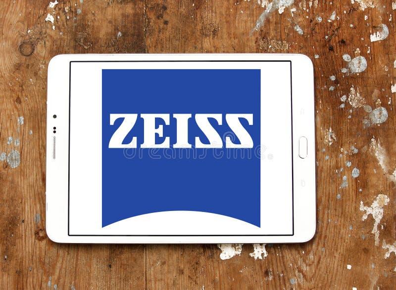 Logotipo de la compañía de Carl Zeiss fotos de archivo libres de regalías