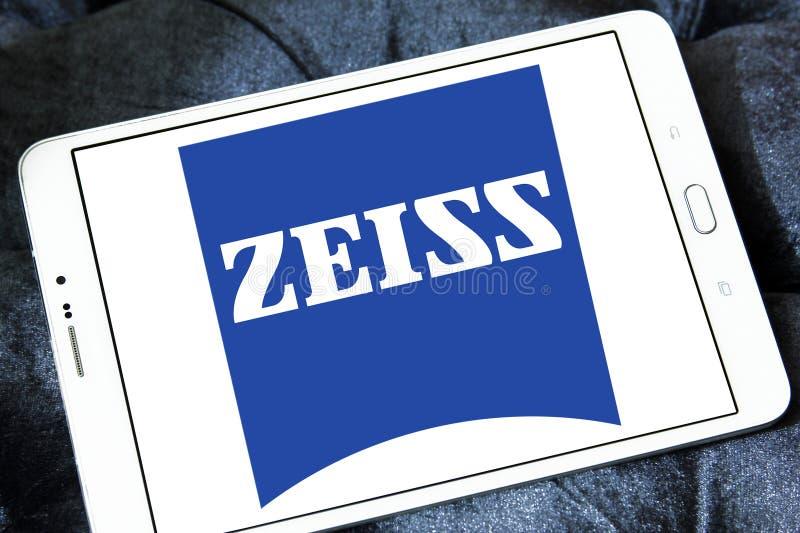Logotipo de la compañía de Carl Zeiss fotografía de archivo libre de regalías