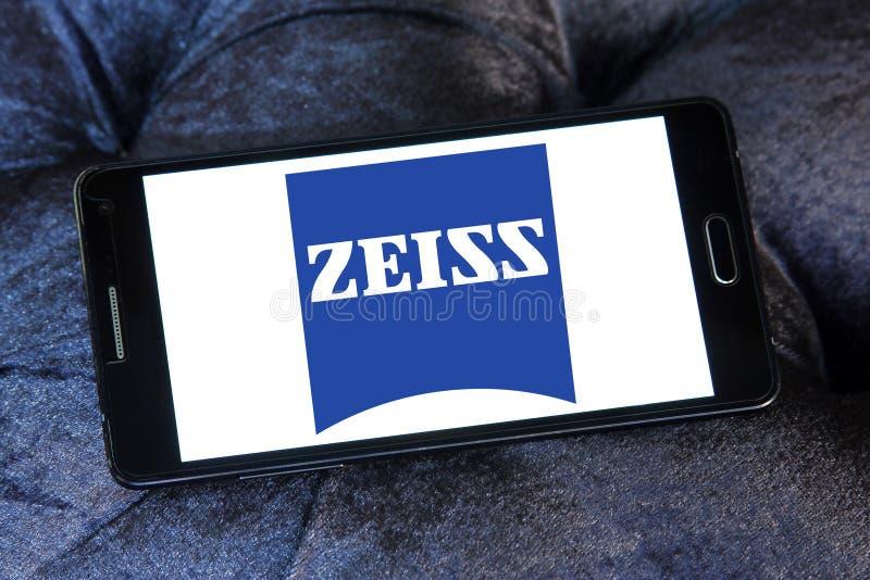 Logotipo de la compañía de Carl Zeiss imagen de archivo libre de regalías