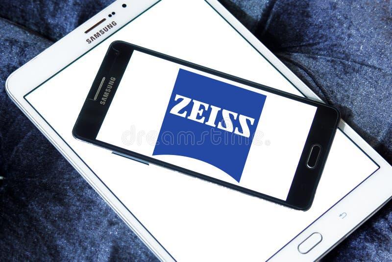 Logotipo de la compañía de Carl Zeiss imágenes de archivo libres de regalías