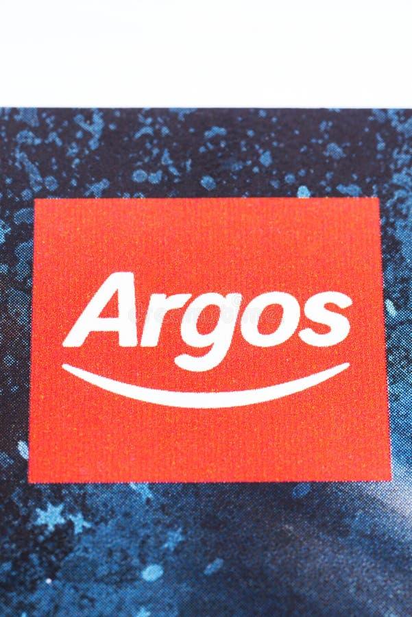 Logotipo de la compañía de Argos fotografía de archivo libre de regalías