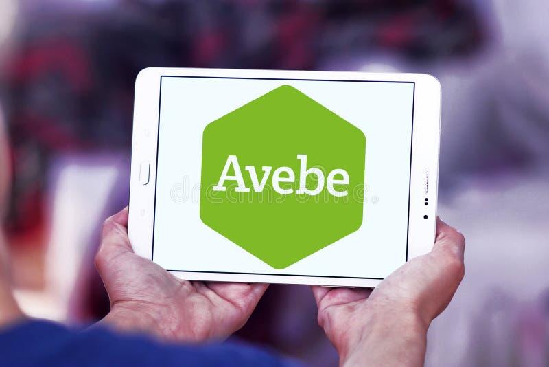 Logotipo de la compañía de la agricultura de Avebe fotografía de archivo libre de regalías
