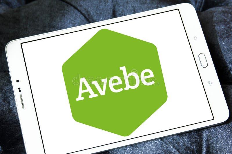 Logotipo de la compañía de la agricultura de Avebe fotografía de archivo