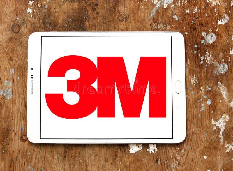 logotipo de la compañía de 3M imagenes de archivo