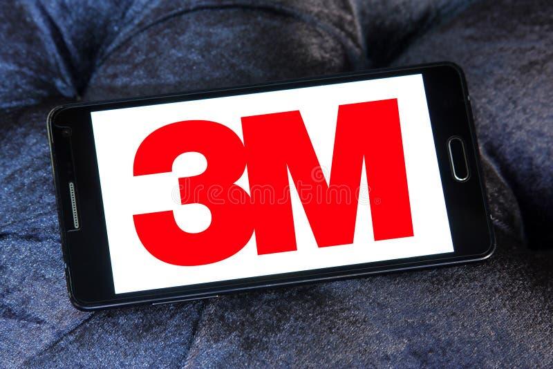 logotipo de la compañía de 3M fotografía de archivo