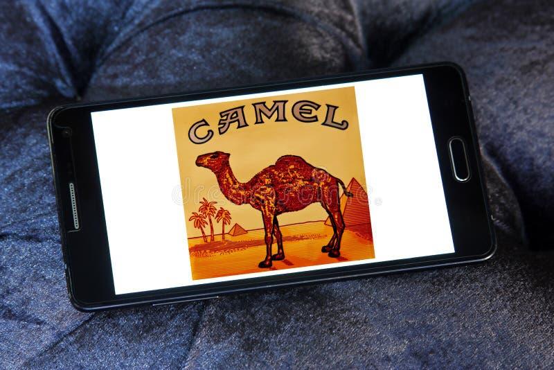 Logotipo de la compañía de los cigarrillos del camello fotos de archivo libres de regalías