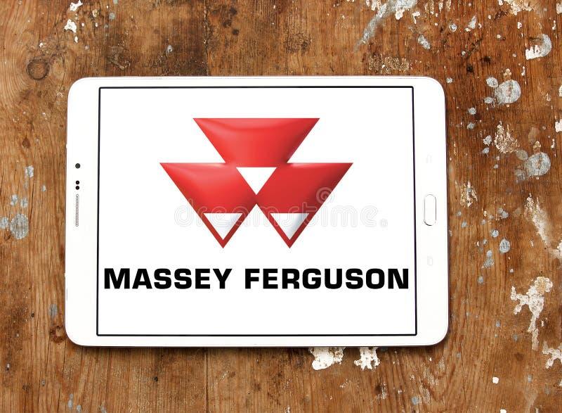 Logotipo de la compañía de Massey Ferguson foto de archivo libre de regalías