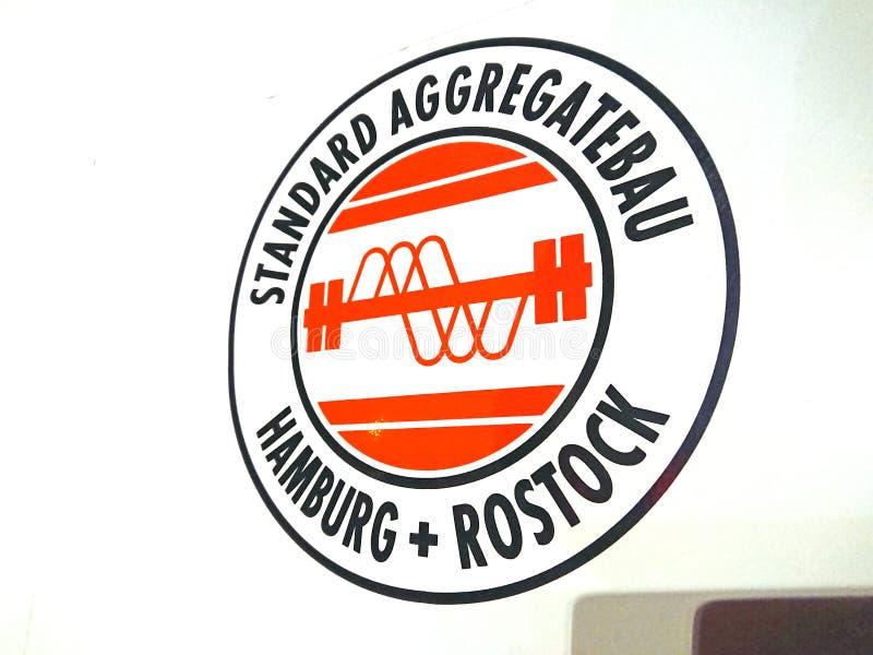 Logotipo de la compañía de SAB Standard Aggregatebau foto de archivo