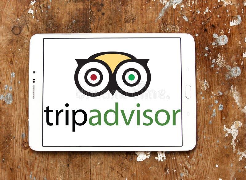 Logotipo de la compañía de TripAdvisor fotos de archivo