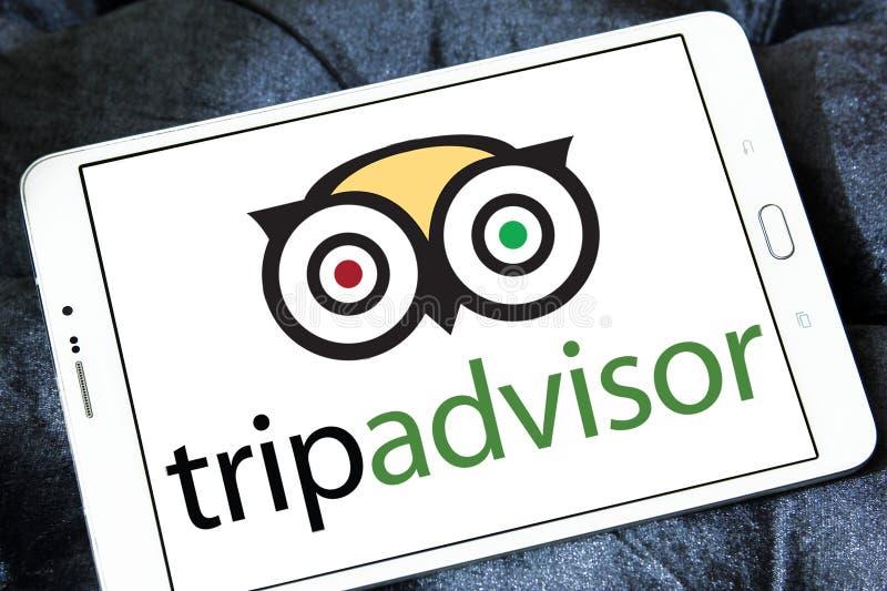 Logotipo de la compañía de TripAdvisor imagen de archivo