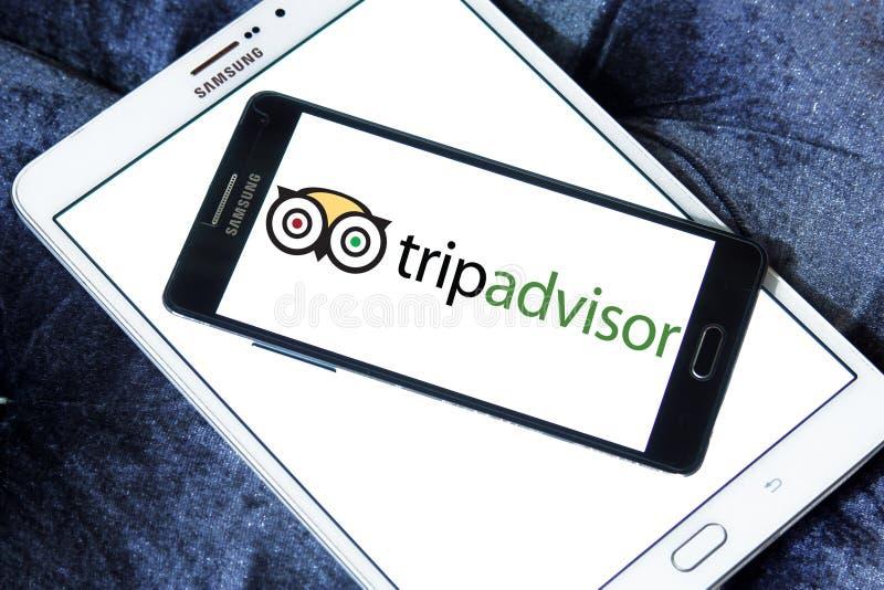 Logotipo de la compañía de TripAdvisor imagen de archivo libre de regalías