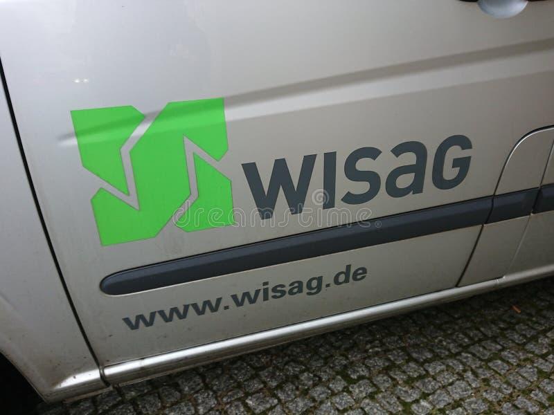 Logotipo de la compañía de Wisag foto de archivo