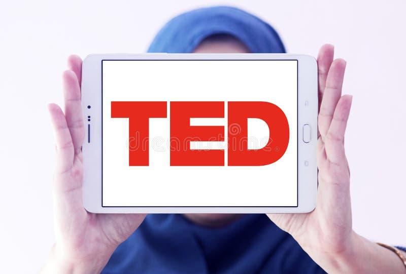 Logotipo de la conferencia de TED imagen de archivo libre de regalías