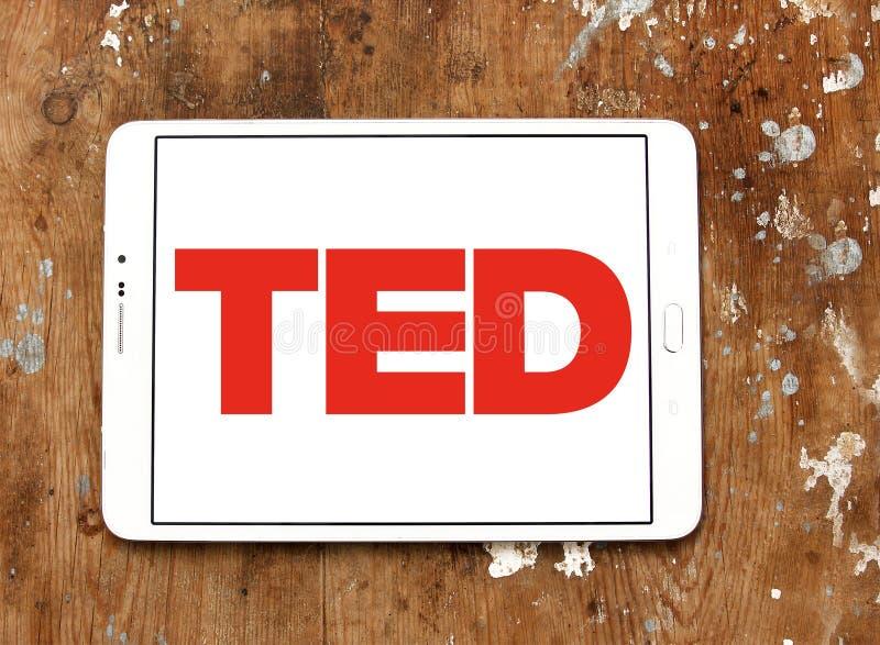 Logotipo de la conferencia de TED imágenes de archivo libres de regalías