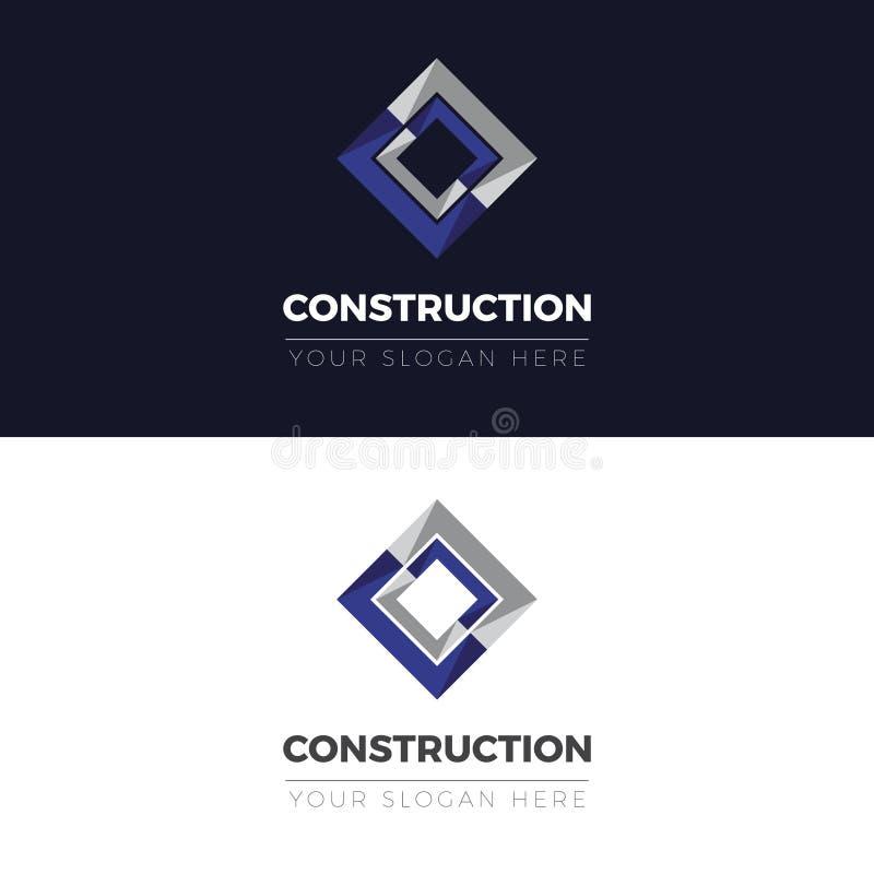 Logotipo de la construcción ilustración del vector