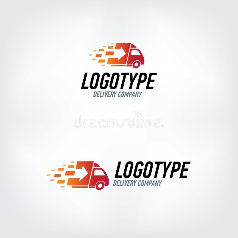 Logotipo de la empresa de distribución libre illustration