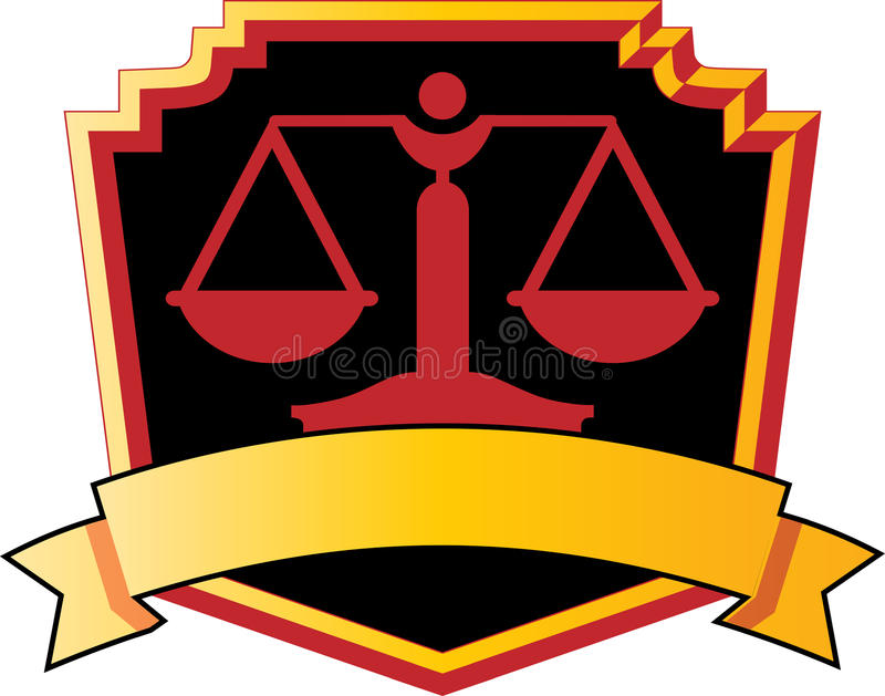 Logotipo de la escala stock de ilustración