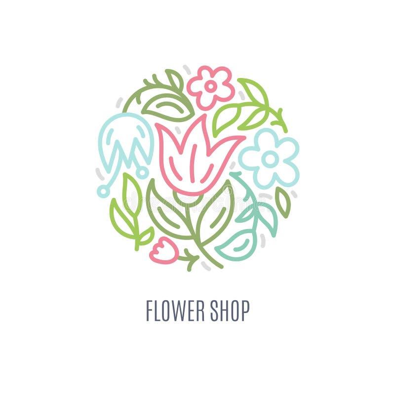 Logotipo de la flor libre illustration