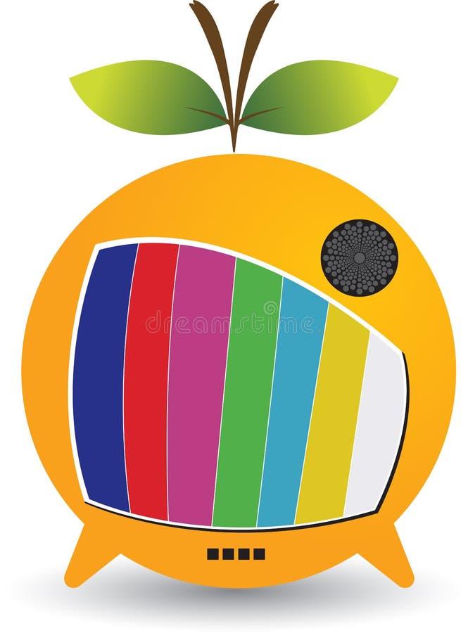 Logotipo de la fruta TV libre illustration