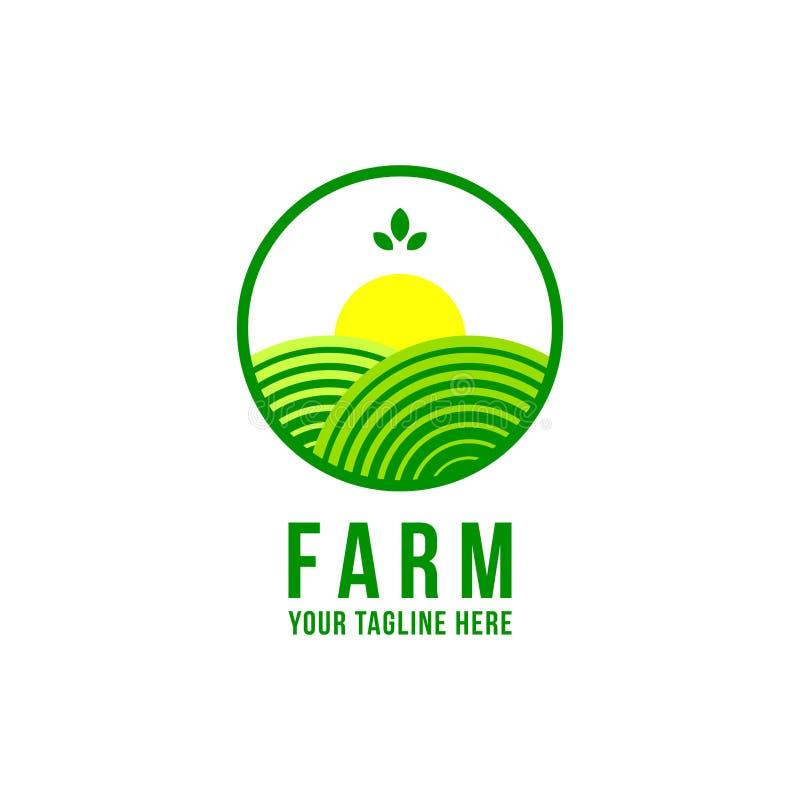 Logotipo de la granja libre illustration